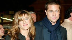 Brad Pitt ile Jennifer Aniston yıllar bir projede bir araya geldi