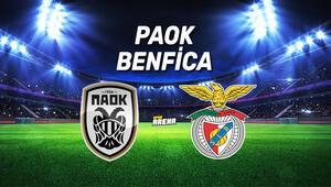 Paok Benfica maçı ne zaman, saat kaçta, hangi kanaldan canlı yayınlanacak