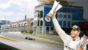 Formula 1 pilotları İstanbul Parkı virajlarıyla tanıyor