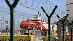 Oruç Reis Antalya Limanında bakıma alındı