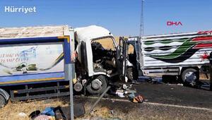 Diyarbakırda çöp kamyonuyla kamyonet çarpıştı: 2 ölü, 2 yaralı