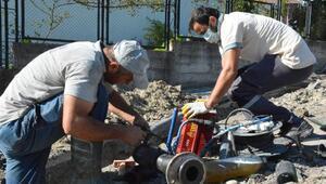 Karadeniz Ereğlide ilave şu şebekesi hatları yapılıyor