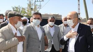 Vali Demirtaştan kırsal mahallelere ziyaret
