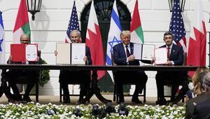 Son dakika haberi: İsrail-BAE-Bahreyn arasındaki anlaşma resmen imzalandı