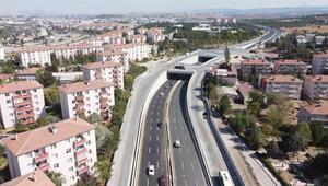 Köprülü kavşaklar trafiğe açıldı