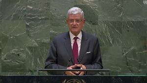 BM 75. Genel Kurul Başkanı Bozkırdan Doğu Akdeniz mesajı