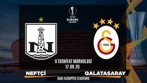 Galatasaray, Bakü deplasmanında UEFA Avrupa Liginde rakip Neftçi...
