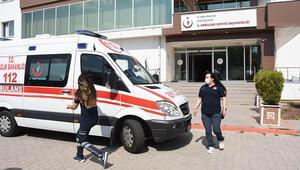 112den 'hızır servis': Ağır yaralı kadının evi 10 dakikada bulunup, hayatı kurtarıldı