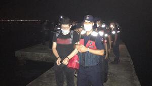 Son dakika haberler: Sürat teknesiyle Yunanistana kaçmak isterken yakalandılar