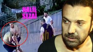 Yumruk atmış Halil Sezainin gözaltına alındığı kavga kamerada