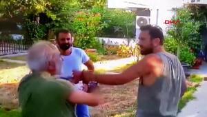 Halil Sezainin gözaltına alındığı kavga kamerada