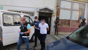 Samsunda özel harekat destekli uyuşturucu operasyonu: 13 gözaltı