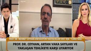 """Prof. Dr. Mehmet Ceyhandan """"A Rh+ kan grupları koronavirüsten daha fazla etkileniyor iddiası cevap"""