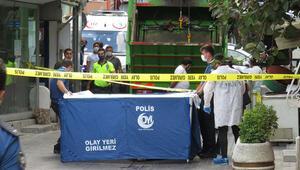 Beykozda çöp kamyonunun altında kalan yaşlı kadın öldü