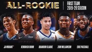 NBAde yılın en iyi çaylak 5leri belli oldu