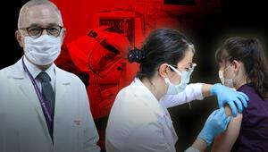 Son dakika haberler: Türkiyede tarihi gün... Koronavirüs aşısında ilk gönüllü uygulaması yapıldı