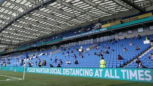 Son dakika | İngilterede oynanacak 10 maça seyirci izni