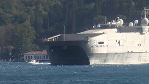 ABDnin bir donanma gemisi daha Karadenizde