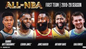 Son Dakika Haberi | NBAde yılın 5leri belirlendi