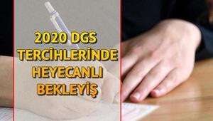 DGS tercihleri ne zaman 2020 DGS tercih kılavuzu için ÖSYMnin açıklaması bekleniyor