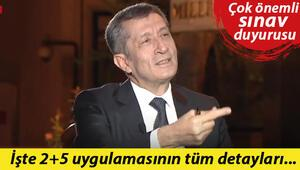 Son dakika: Milli Eğitim Bakanı Selçuk'tan canlı yayında çok önemli sınav duyurusu