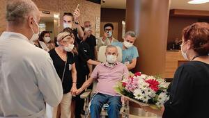 4 ay sonra yoğun bakımdan çıktı, ilk sorusu şu oldu: Neden herkes maske takıyor