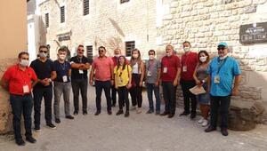 Turizmciler Kilisi ziyaret etti