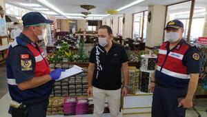 Geredede koronavirüs tedbirlerine uymayanlara para cezası