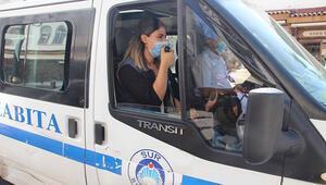 Diyarbakırda koronavirüs denetimi
