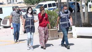 Evden 100 bin TLlik ziynet eşyası çalan kadın yakalandı