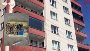 Rizede 12 katlı binada şüpheli düzenek alarmı