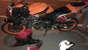 Kazada yaralanan motosiklet sürücüsü yaşam savaşını kaybetti