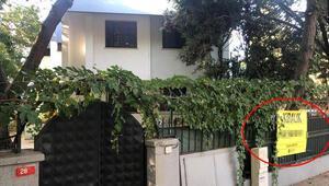 Halil Sezainin oturduğu villa kiralığa çıkarıldı