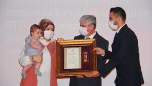 Hatayda Devlet Övünç Madalyası ve Beratı töreni
