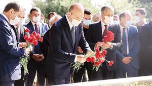 Menderes ve arkadaşlarına 59uncu yıl anması