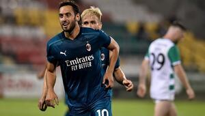 Son dakika   Hakan Çalhanoğlu, Milanı yine uçurdu