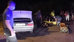 Adanada trafik kazası: 2 yaralı