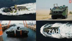 Deniz piyadesinin yeni aracı ZAHAnın testlerinde bir aşama daha geçildi