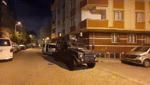 İstanbulda aranan kişilere yönelik operasyon, çok sayıda gözaltı var
