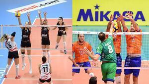 Misli.com Sultanlar Ligi ve Efeler Liginde 3. hafta heyecanı