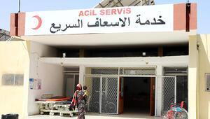 Tel Abyadda teröristlerin yaktığı hastane onarıldı, günlük 800 hastaya şifa dağıtıyor