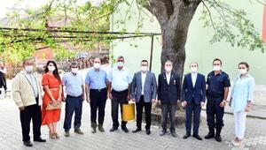 Mustafakemalpaşada Kıbrıs Gazisine vefa ziyareti