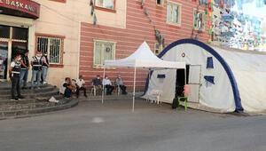 Diyarbakırda HDP önündeki eylemde 382nci gün
