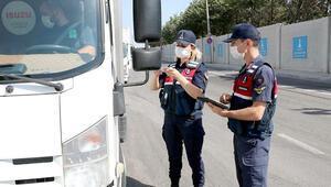İzmirdeki koronavirüs denetimlerinde 231 bin 39 TL para cezası