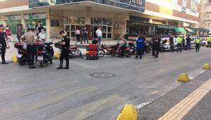 Çankırıda 15 motosiklet sürücüsüne para cezası