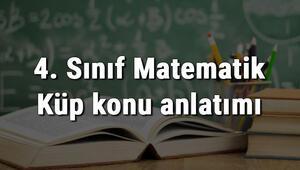 4. Sınıf Matematik Küp konu anlatımı