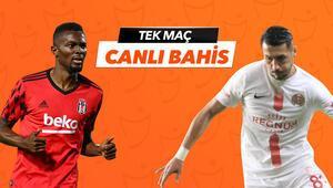 Süper Ligde günün en kritik karşılaşması Beşiktaşa Antalyaspor karşısında verilen iddaa oranı...