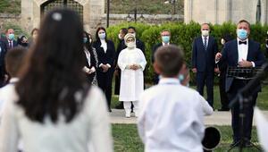 Emine Erdoğan Edirnede ziyaretlerde bulundu