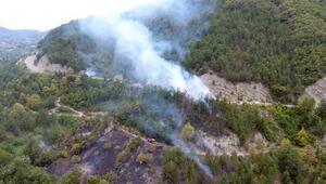 Sorumsuzluğun bu kadarına da pes Kuru otları temizlemek isterken 20 hektar ormanı yaktı