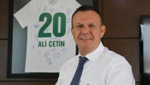 Denizlispor Kulübü Başkanı Ali Çetin: İyi yerlere geleceğimizden hiç şüphem yok